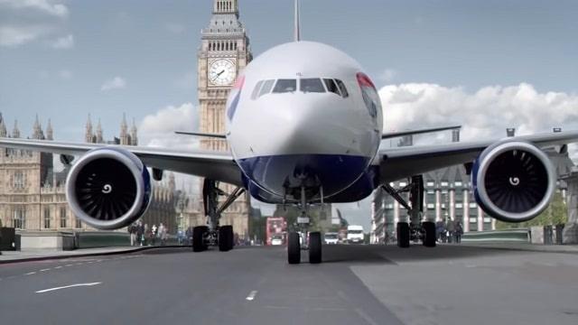 British Airways 2012 London Calling advert
