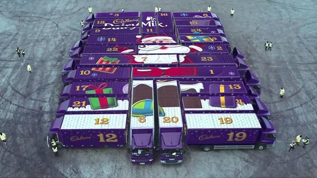 Cadbury 2015 Christmas advent calendar