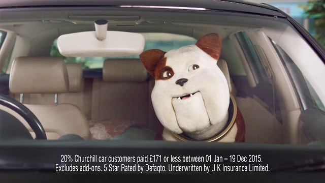 "2016 Churchill Advert ""Singing Visor"""