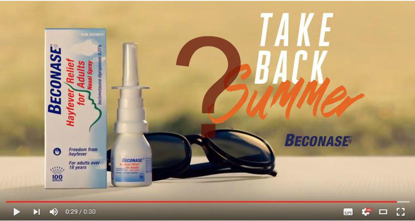 Beconase Advert Song Mystery