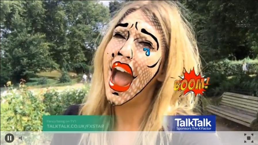 Talk Talk X Factor 2016