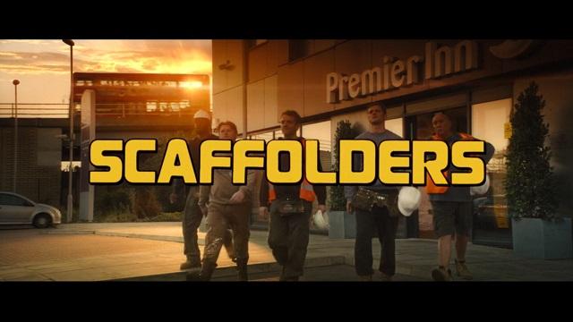 Premier Inn - Scaffolders advert
