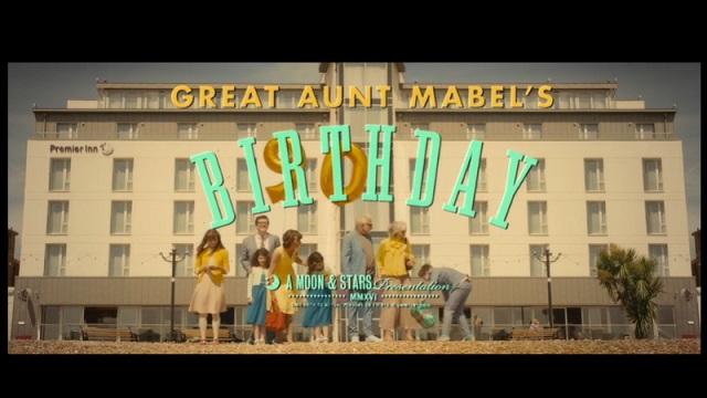 Premier Inn - Great Aunt Mabel's Birthday Advert