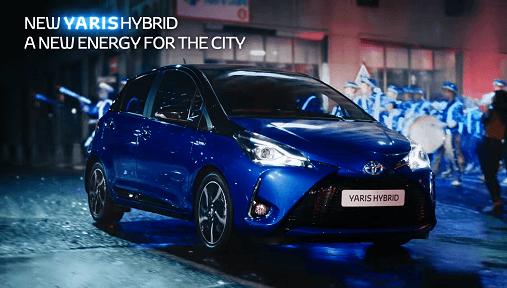 Toyota Yaris Hybrid advert song