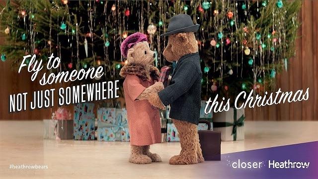 Heathrow Christmas 2017 Advert - Bears