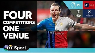 BT Sport - Four Competitions One Venue