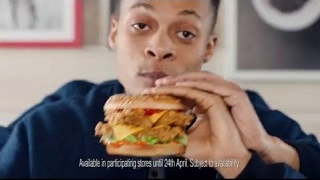 KFC - Double Zinger Stacker