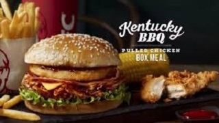 KFC - Kentucky BBQ Pulled Chicken Box Meal
