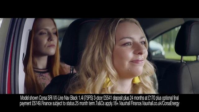 Vauxhall Corsa Energy Advert