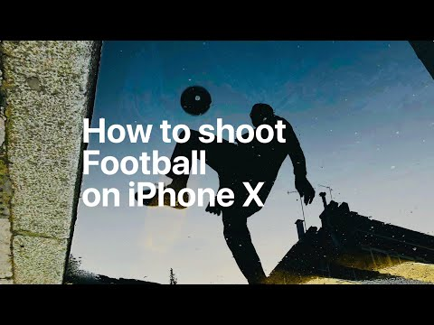 Apple iPhone X - How To Shoot Football