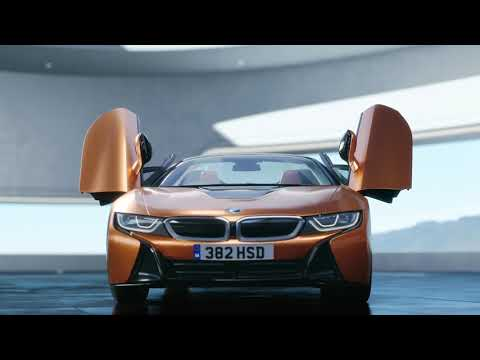 BMW i8 Roadster - Floats like a butterfly