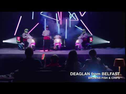 Just Eat X-Factor 2018 - Deaglan from Belfast