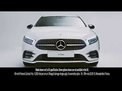 Mercedes A Class - Technology at your fingertips