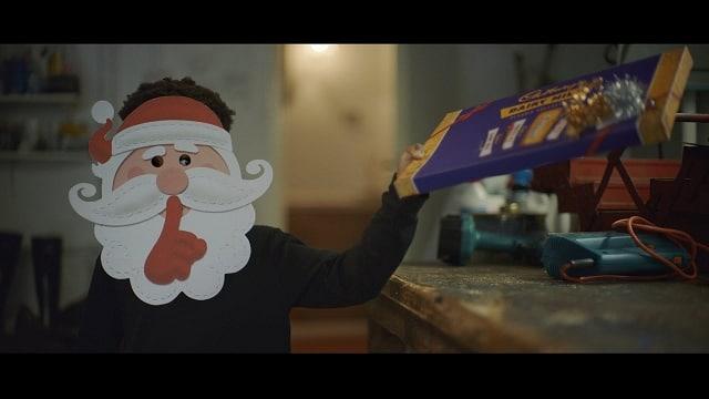 Cadbury Secret Santa advert