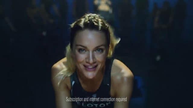 Peloton - Inside a class advert