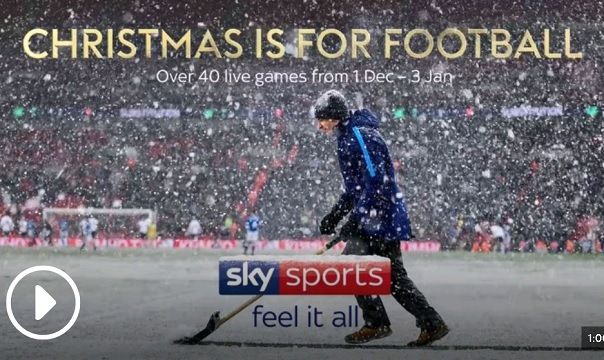 Sky Sports - Christmas is for Football