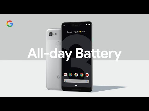 Google Pixel 3 - All-Day Battery
