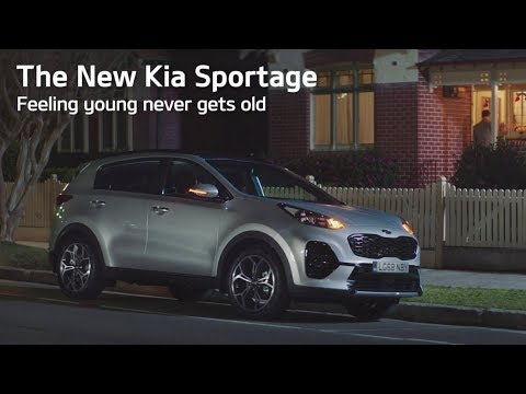 Kia Sportage - Feeling Young Never Gets Old