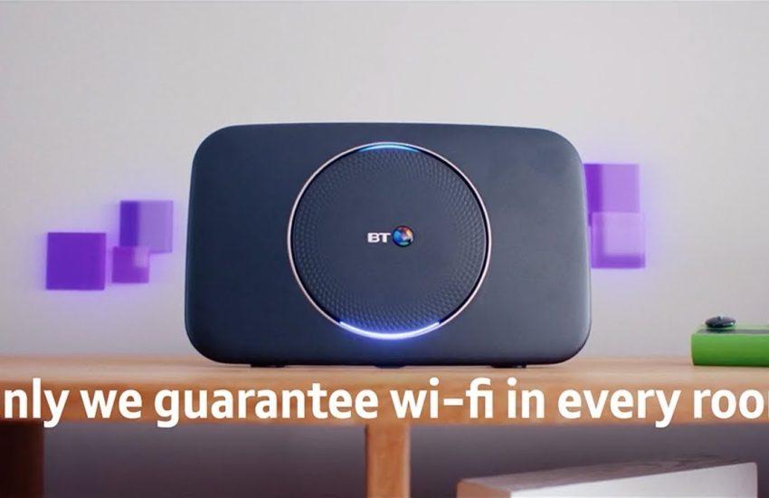 BT Complete WiFi Advert