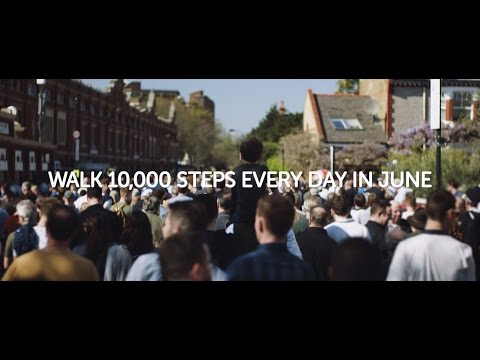 Cancer Research UK - Walk All Over Cancer