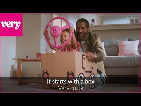 Very.co.uk - It starts with a box advert