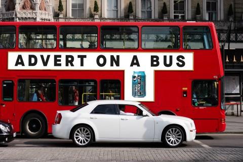 Brewdog bus advert