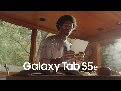 Samsung Galaxy Tab S5e - A Lot More Tablet in Our Thinnest Frame