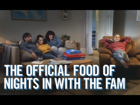 Domino's - Official food of nights in with the fam