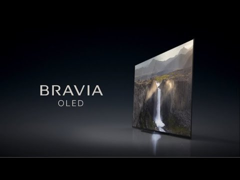 Sony Bravia OLED TV - Desert Water