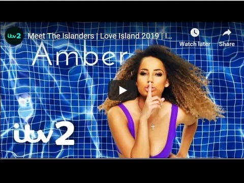 ITV2 Love Island 2019 - Meet the islanders
