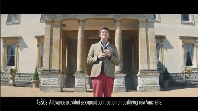 Vauxhall Trade Up Advert