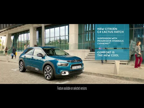 Citroën C4 Cactus - Comfort is the New Cool