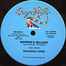 Rapper's Delight Record
