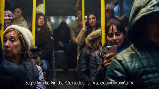 Tesco Mobile Clubcard Advert