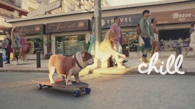 Churchill - Chill Skateboard Advert Music