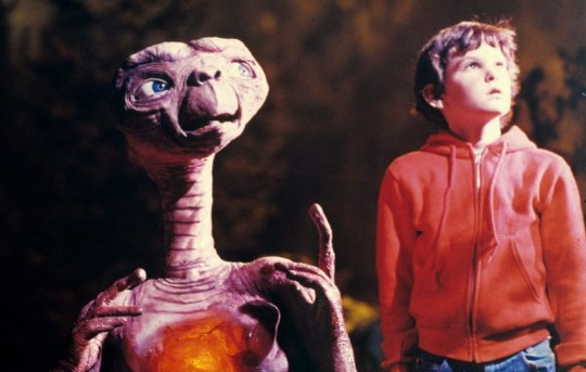 The original film E.T. and Elliot