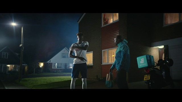 Deliveroo EURO 2020 Advert