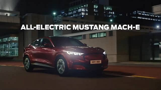 2020 Ford Mustang mach-e advert song - power