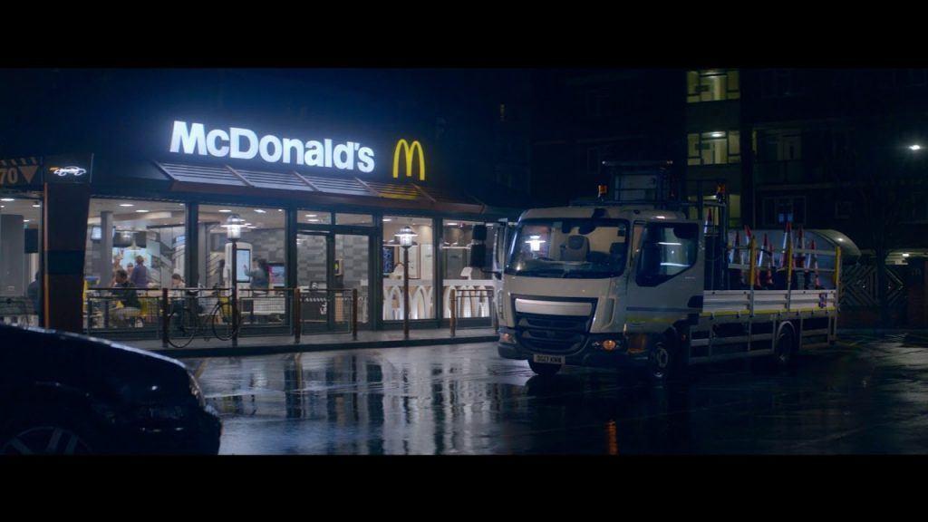 McDonald's Rhythm if the Night advert music
