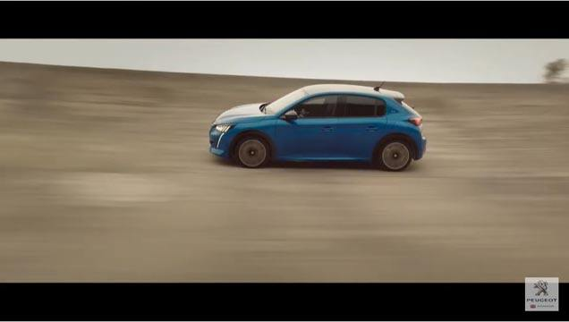 Peugeot 208 Car of the year 2020 advert music