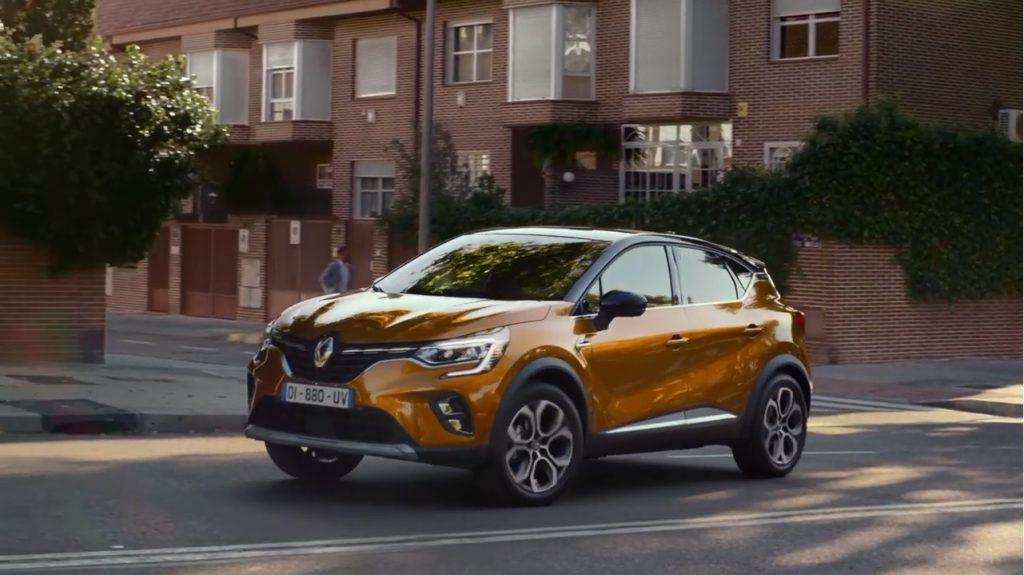 Renault CAPTUR Advert Song
