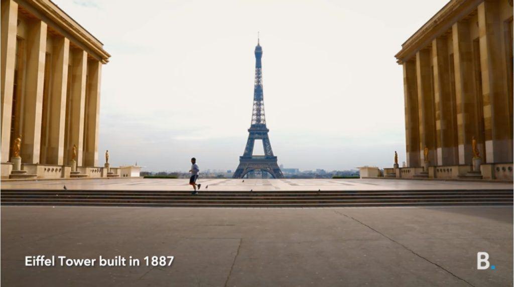 Booking.om Advert Music - Eiffel Tower