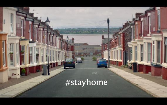 Cathedral City - Stay Home Advert Song