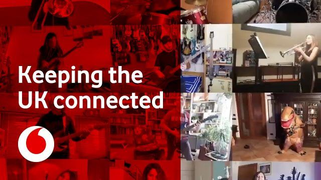 Vodafone Come Together Advert Music