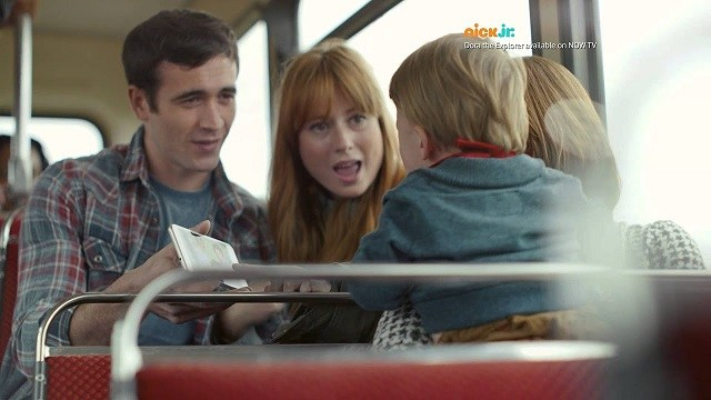 Vodafone Advert Music - A Happy Bus Journey