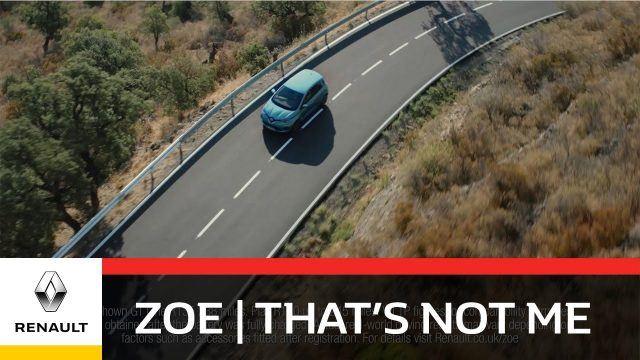 Renault Zoe Make the switch advert music