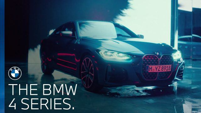 BMW Series 4 coupe advert music