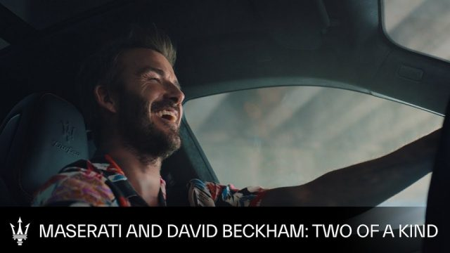 Maserati David Beckham Advert Music