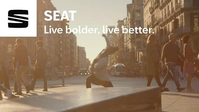 SEAT Ibiza 2021 advert - Live Bolder, Live Better