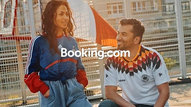 Booking.com EURO 2020 Rivals Reunited - advert song
